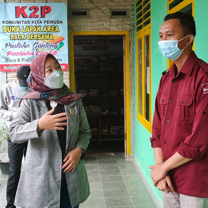 Lesty Anggota DPRD Lampung Rangkul kaum Milenial