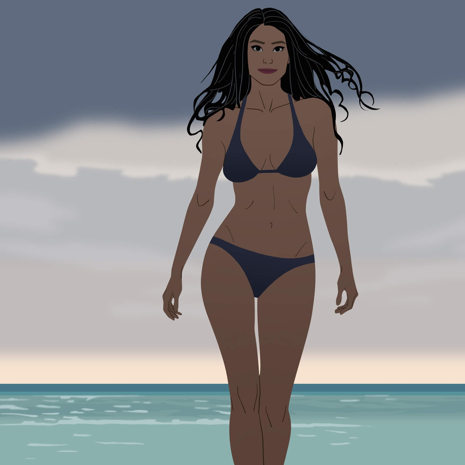 34 Mindblowing Illustrations Depict Female Inner Beauty And Power