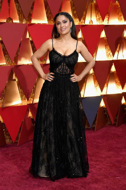 Salma Hayek at 89th Annual Academy Awards 2