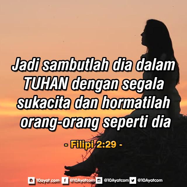 Filipi 2:29