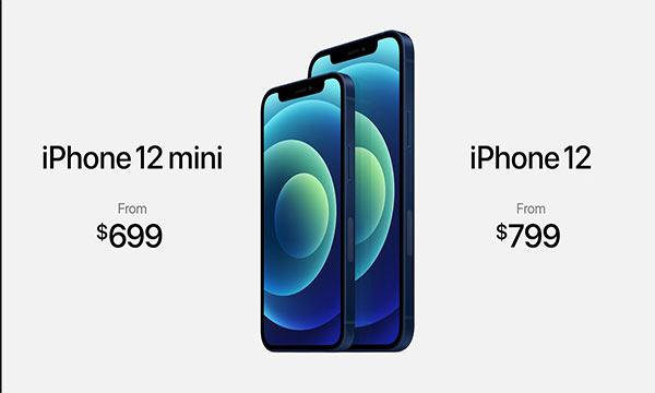 سعر هاتف ايفون 12 iPhone و12 ميني