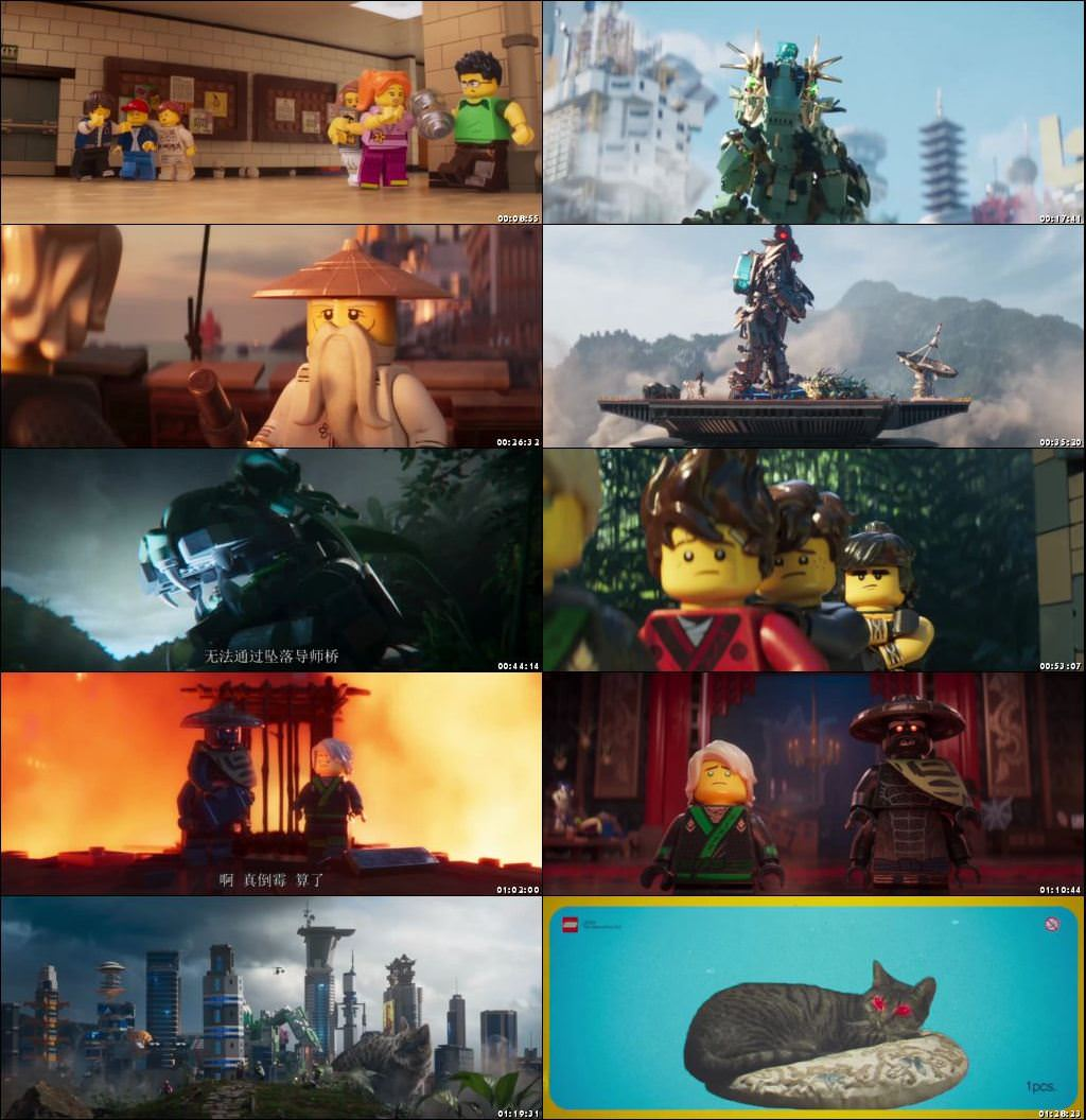The Lego Ninjago Movie 2017 Eng
