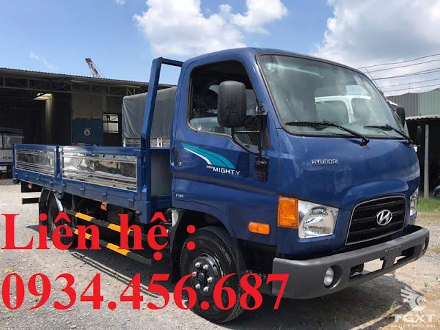Giá xe 7 tấn Hyundai 110xl thùng lửng tại Thái Nguyên