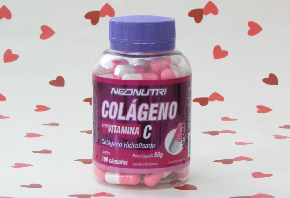 Colágeno, Vitamina C, suplemento, Neo Nutri