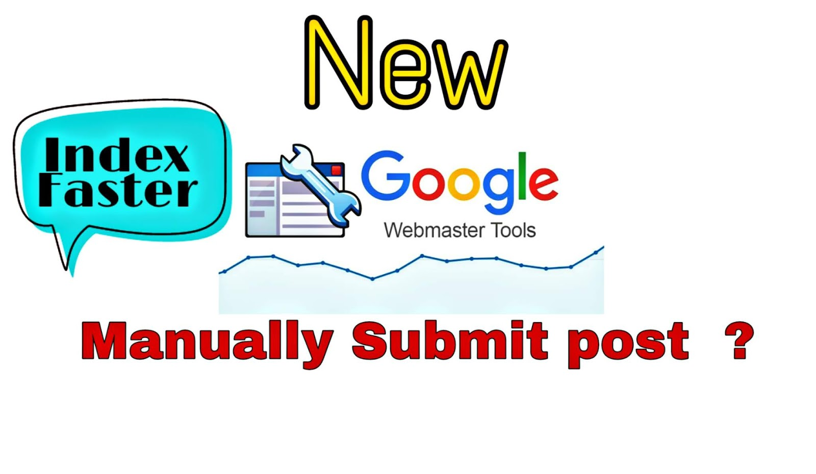 How to Manually Submit Post in New Webmaster tool ?