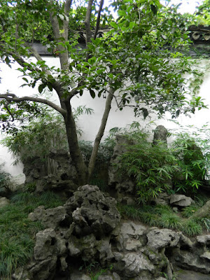 Rock garden at Lingering Garden in Suzhou China by garden muses-not another Toronto gardening blog