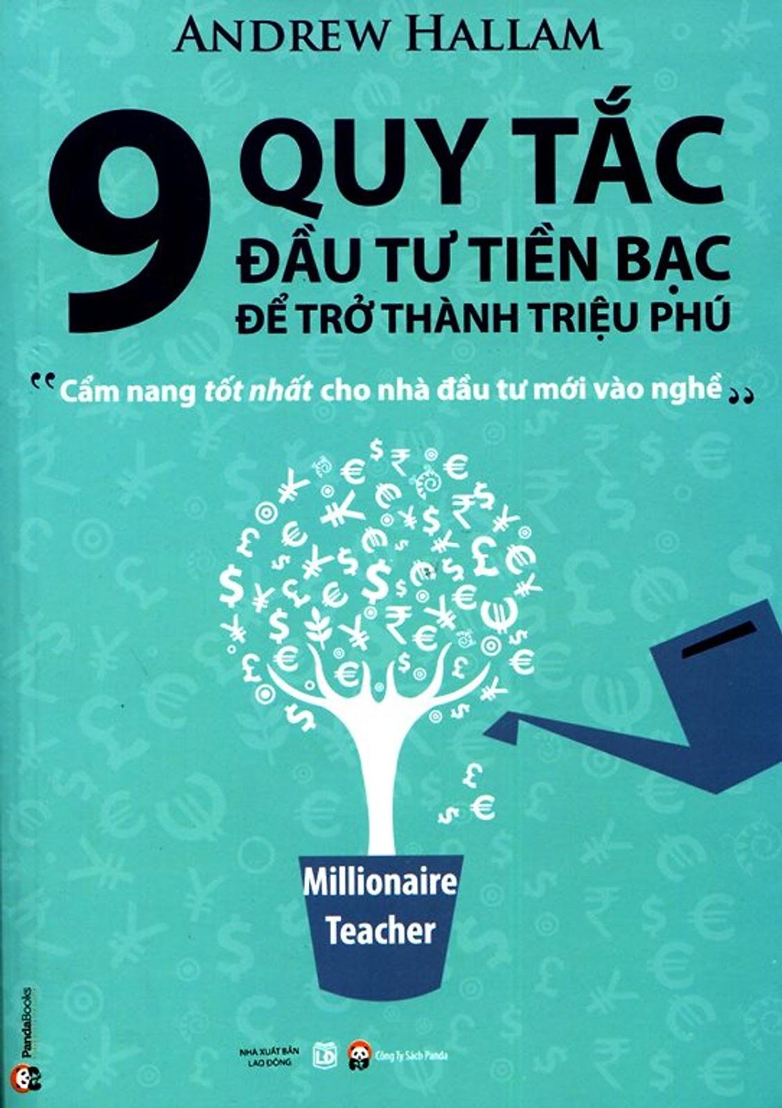 9 Quy Tắc Đầu Tư Tiền Bạc Để Trở Thành Triệu Phú PDF