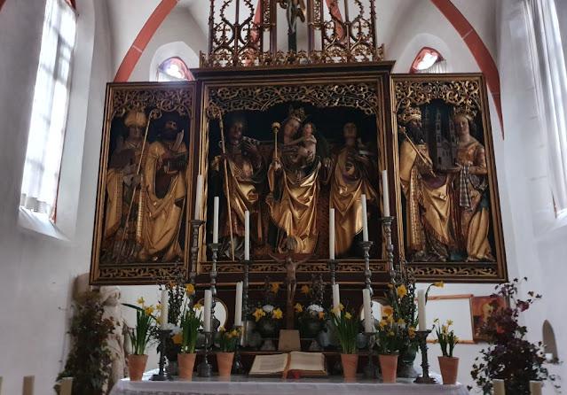 Grünewald-Altar in Lindenhardt