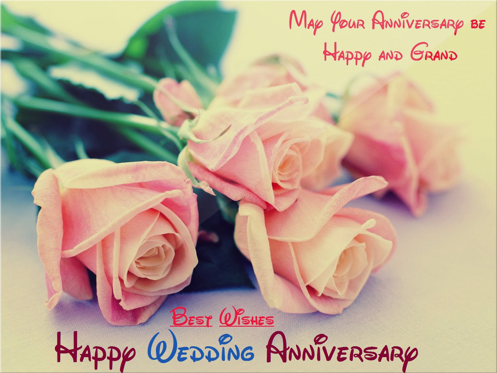 Wedding anniversary wishes for friends with special messages