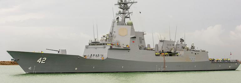 есмінець ППО (Air Warfare Destroyer – AWD) Королівського ВМФ Австралії типу Hobart