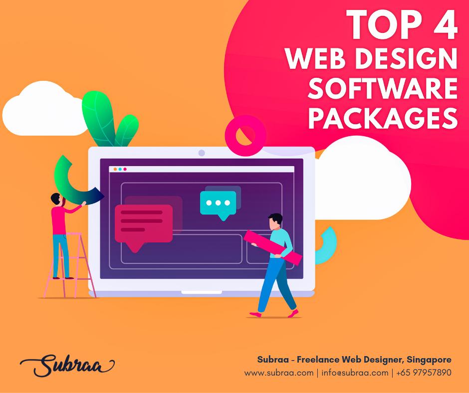 List Of Top 4 Web Design Software