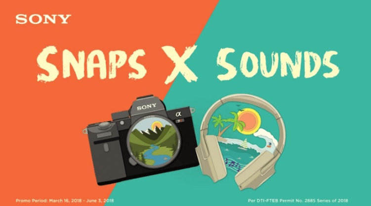 Sony Philippines Outs Snaps X Sound Promo