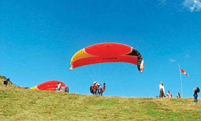 Paragliding in Deolo Kalimpong