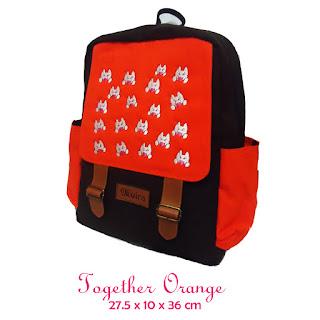 tas ransel sekolah, tas ransel muira terbaru, distributor exclusive tas kreatif