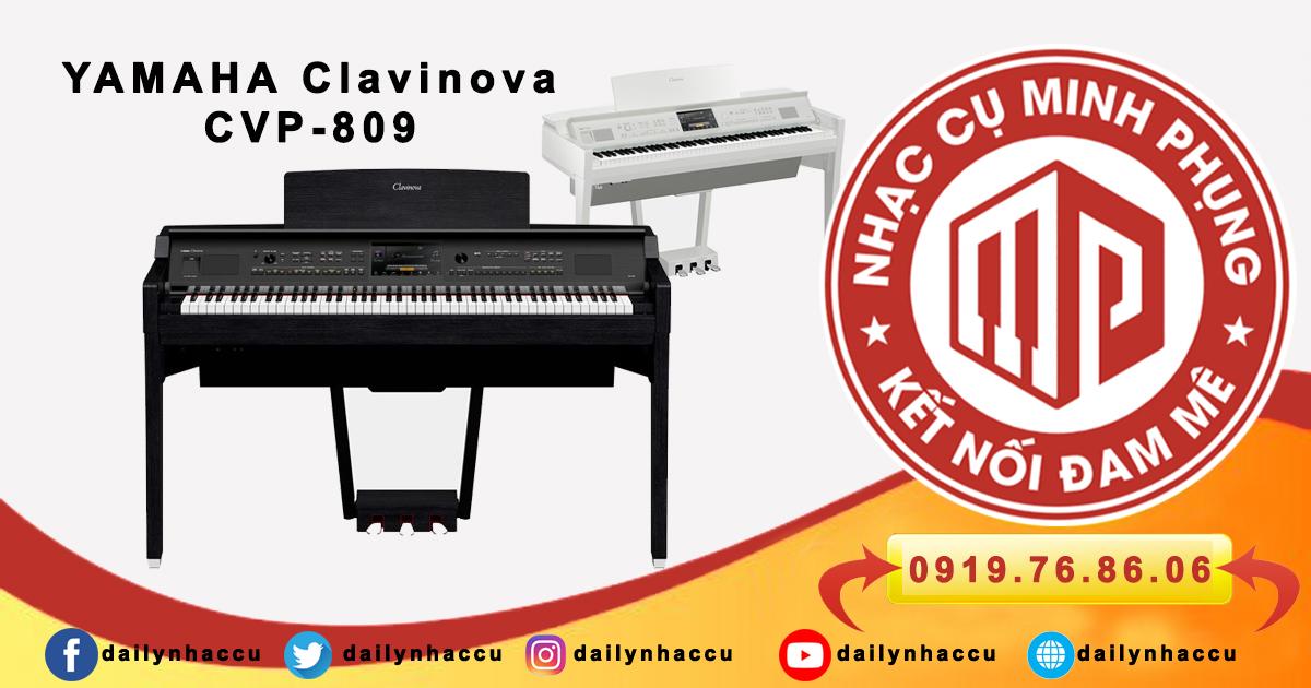 Clavinova CVP-809 đàn piano điện cao cấp Yamaha