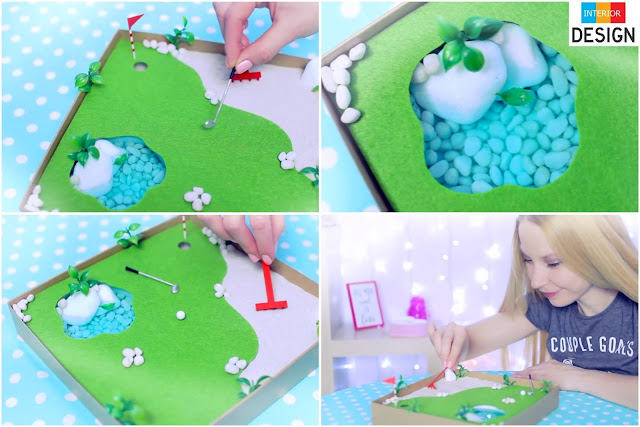 DIY Miniature Golf Zen Garden