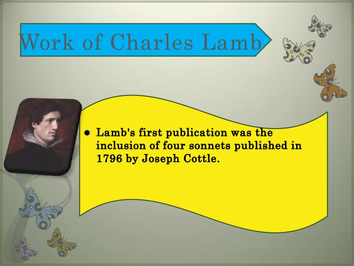 charles lamb my relations summary