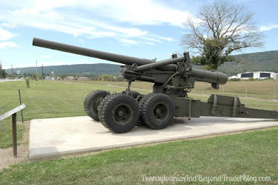 M52 Towed Howitzer in Fort Indiantown Gap Pennsylvania
