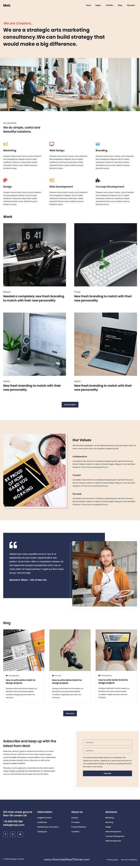 Digital Marketing Agency HTML Template