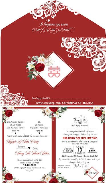 Download Thiệp cưới file corel
