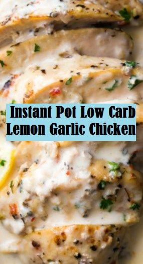 Instant Pot Low Carb Lemon Garlic Chicken