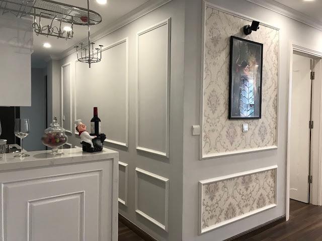 Khu bếp tại căn hộ Eco City được thiết kế riêng biệt thông ra logia