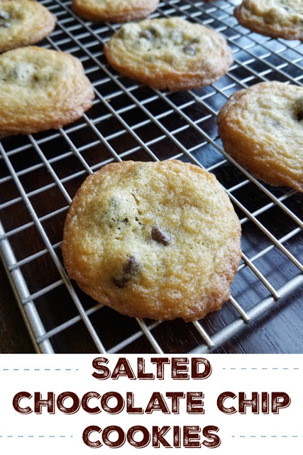Salted chocolate chip cookies bring a bit of sophistication to a childhood favorite. The mix of milk and dark chocolate and the kick of salt make these an outstanding treat!