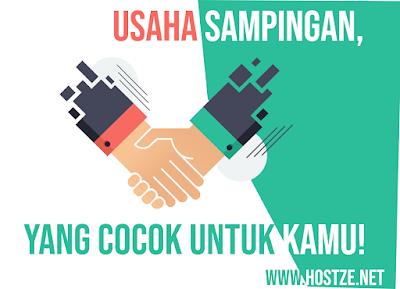 8 Usaha Sampingan, Yang Cocok Untuk Kamu! - hostze.net