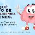 Descubre qué tipo de inteligencia tienes. #TEST #INFOGRAFÍA