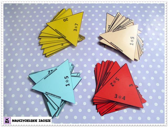 układanka piramidka do pobrania mnożenie i dzielenie w zakresie 30
