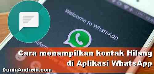 Kontak WhatsApp tidak bisa tampil, Simak cara mengatasinya!