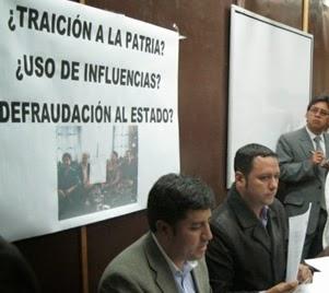 DENUNCIAN IRREGULAR COMPRA DE CONCESIÓN MINERA POR FAMILIARES DEL VICEPRESIDENTE