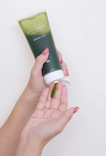 a photo of Althea Real Fresh Skin Detoxer review in Rose and Green Tea by Nikki Tiu of www.askmewhats.com