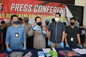 Polresta Tangerang Bekuk Kawanan Penjahat Spesialis Curanmor.