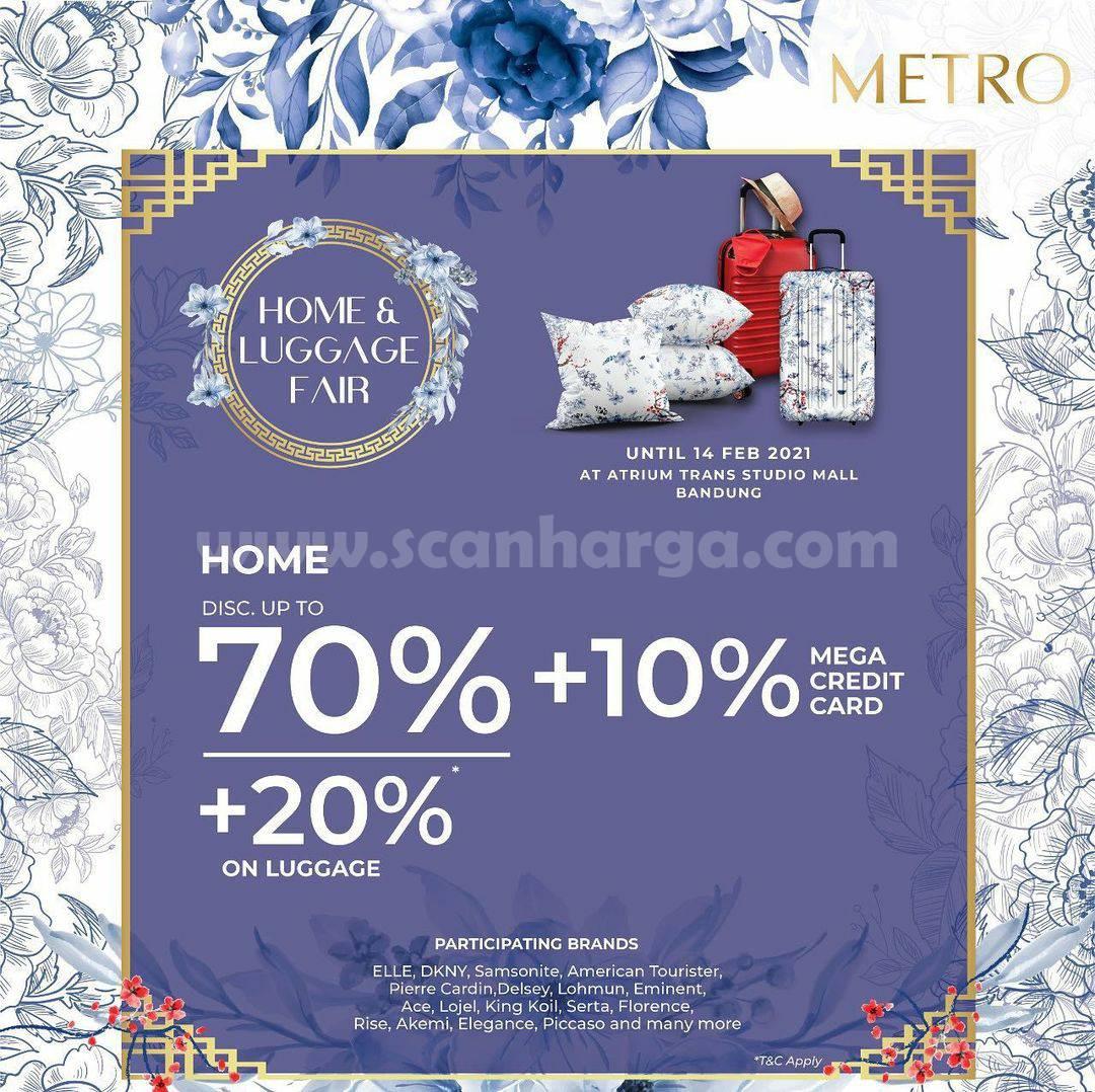 METRO HOME & LUGGAGE FAIR at ATRIUM TSM Bandung!