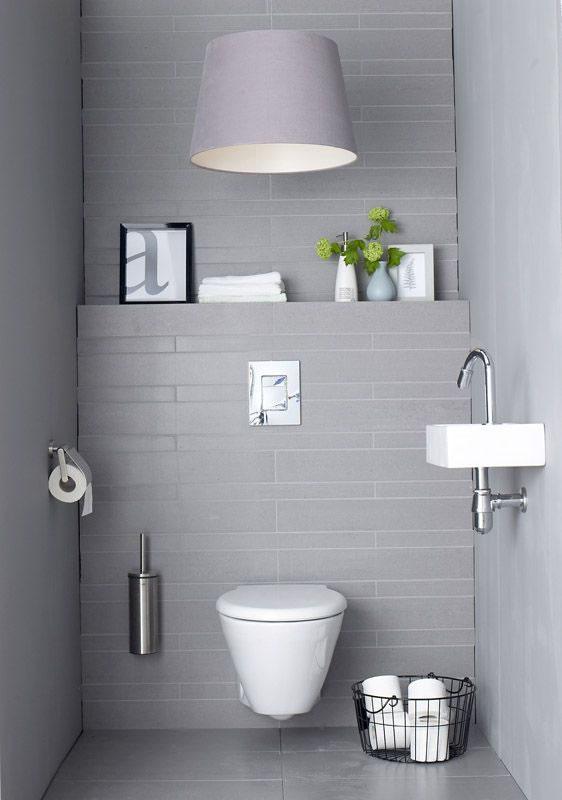 Casas de banho pequenas e bonitas  Decorao e Ideias