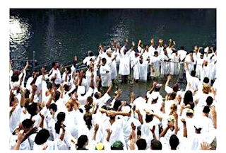 94 Muslims Baptised In Arabian Sea as they gave their lives to Christ Jesus