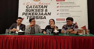 Tim Jokowi Kecewa Kubu Prabowo Sulit Diajak Rekonsiliasi Pasca Pemilu