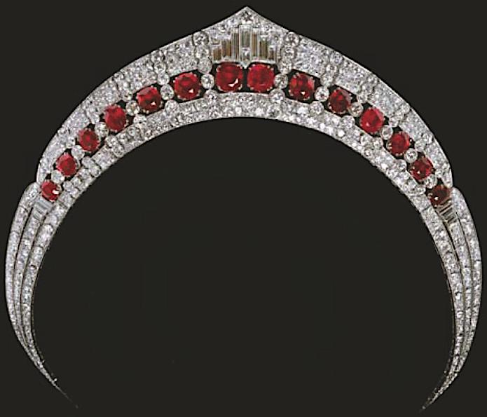 In liquidazione scarpe a buon mercato nuovo stile e lusso Tiara Mania: Duchess of Calabria's Ruby Tiara