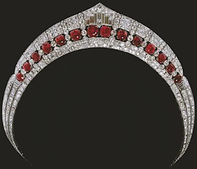 tiara mania duchess of calabrias ruby tiara