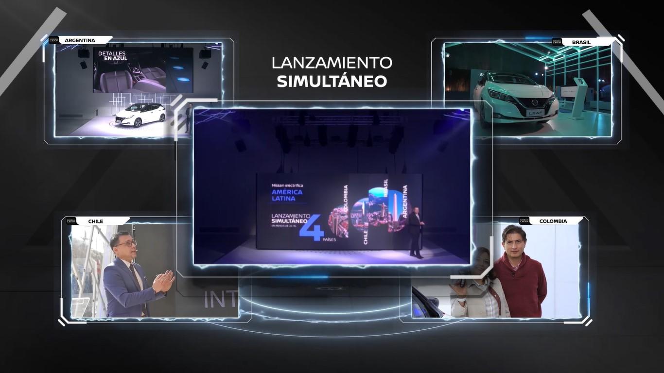 Nissan LEAF abre una nueva era de movilidad eléctrica en América Latina