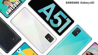 Cara Hard Reset Samsung Galaxy A51