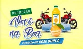 Cadastrar Promoção Sucos Prat's Motos e Tvs Você na Boa - Prêmio Dose Dupla