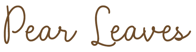 Pear Leaves Font