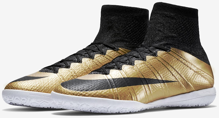 ba470ee34d61 Gold Nike Mercurial X Proximo 2015 Boots Released - Footy Headlines