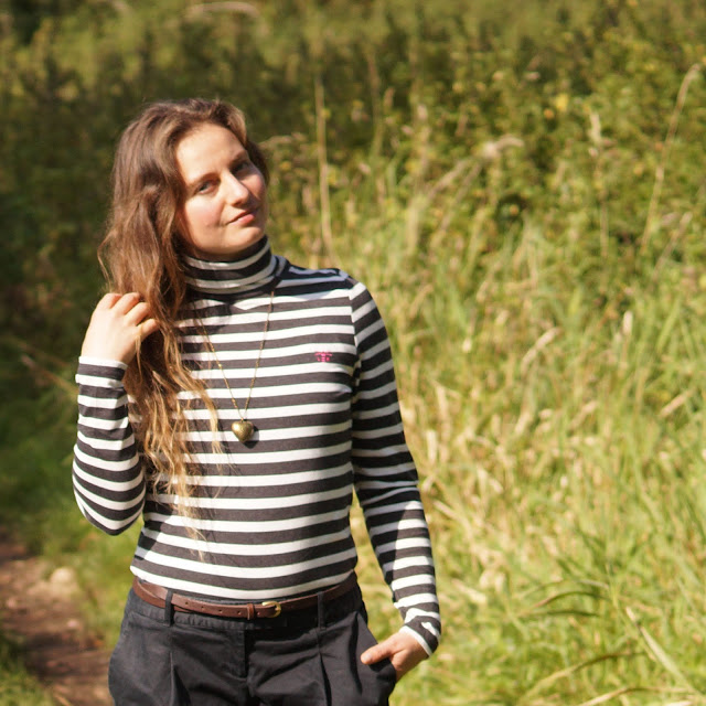 Lighthouse Piper roll neck top review