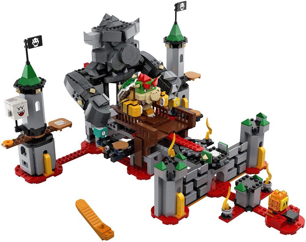 Лучший игровой набор 2021 замок Bowser LEGO Super Mario