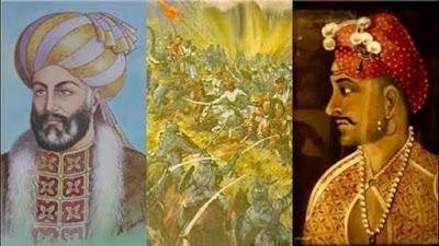 Maratha(L),Abdali(R)