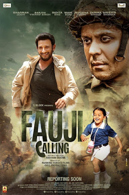 Fauji Calling (2021) Hindi Movie Pre-DVDRip 720p | 480p x264 980Mb | 400Mb