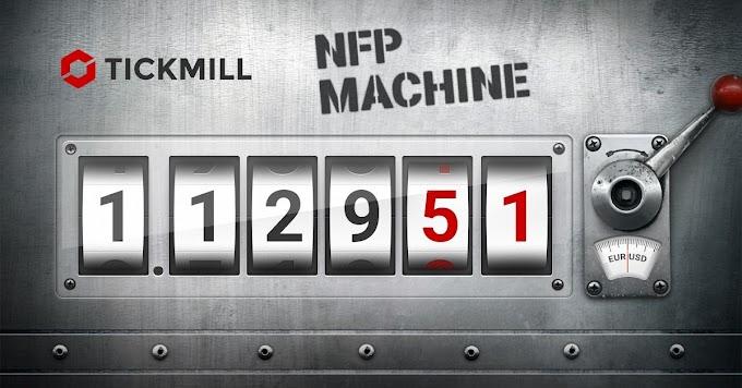 مسابقة Tickmill NFP Machine لشهر اكتوبر بجوائز 500 دولار مجانا